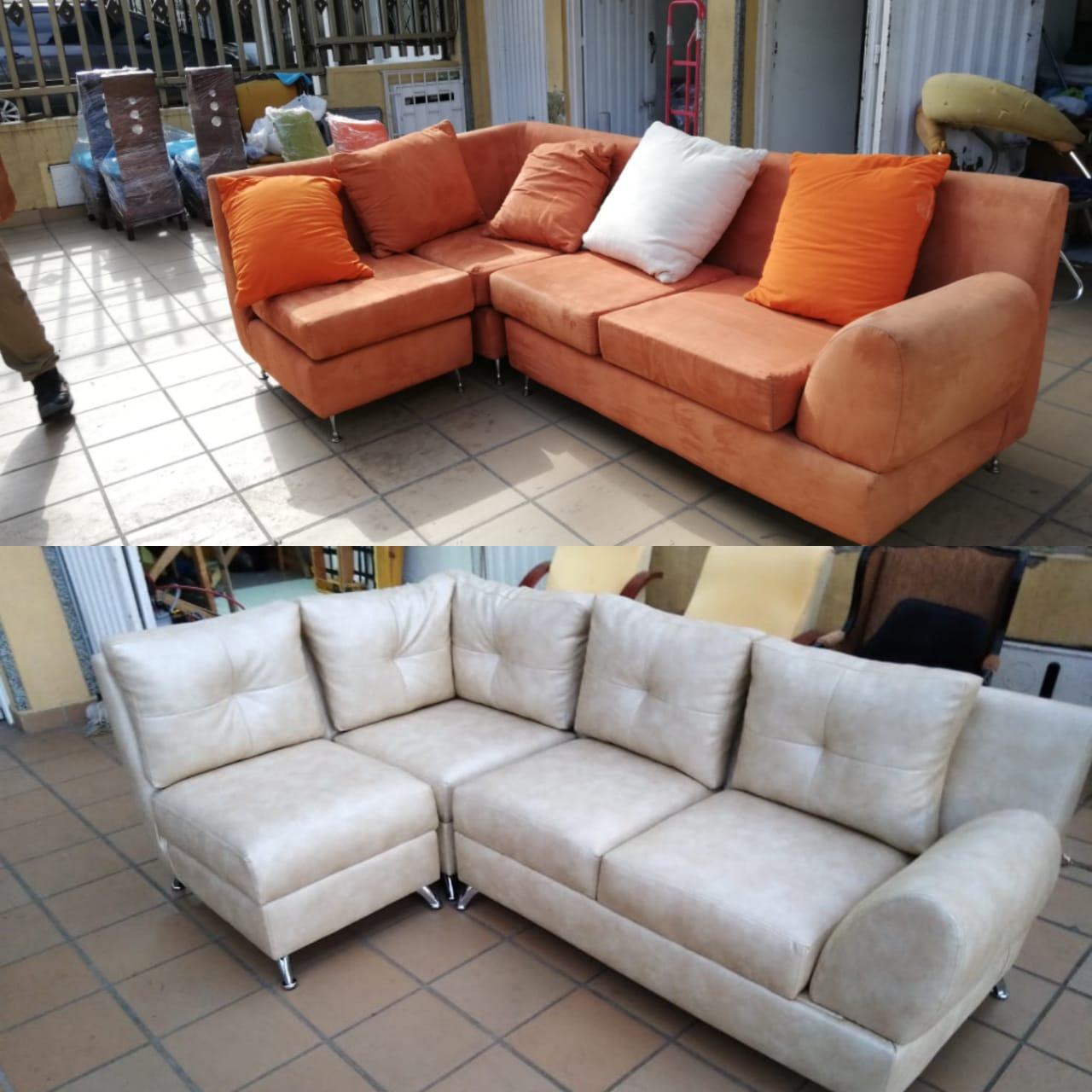 Cambio de tela a muebles cali